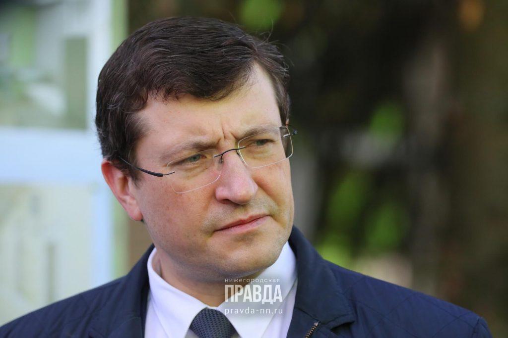 Когда откроют мебельные центры и детские лагеря: Глеб Никитин ответил на вопросы нижегородцев