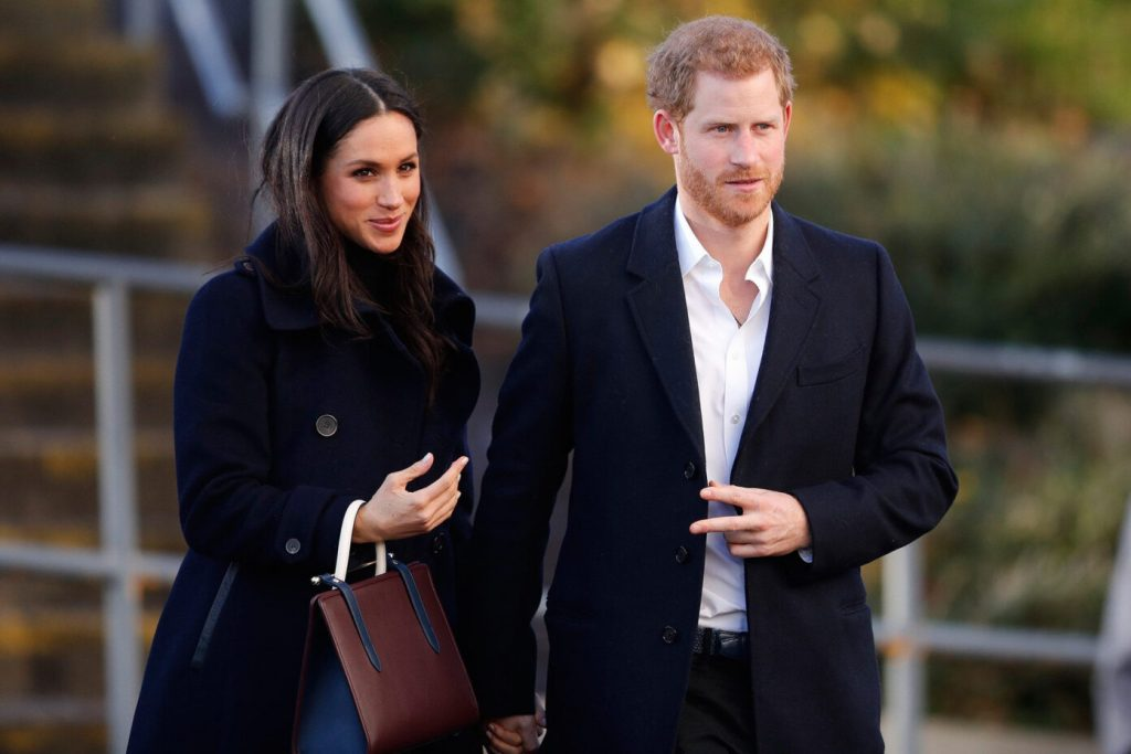 Принц Гарри и Меган Маркл переехали в США