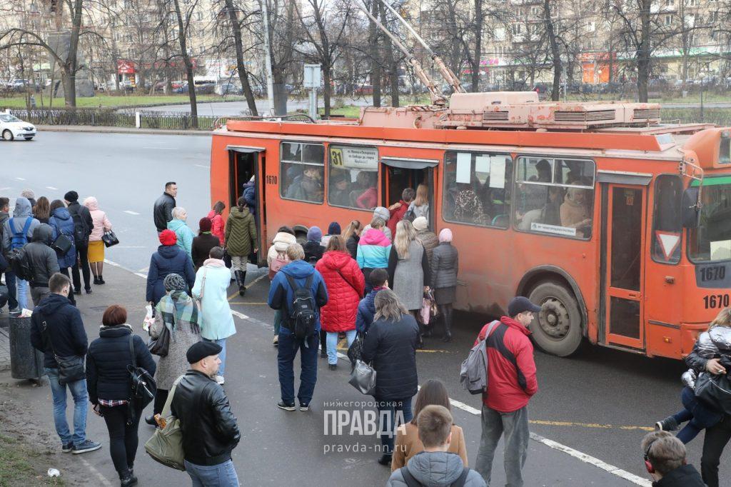 Автомобилист сбил водителя троллейбуса в Нижнем Новгороде