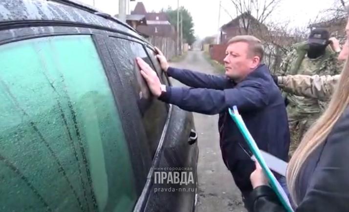 Замначальника нижегородского УГИБДД Алексея Сатова отправили под домашний арест