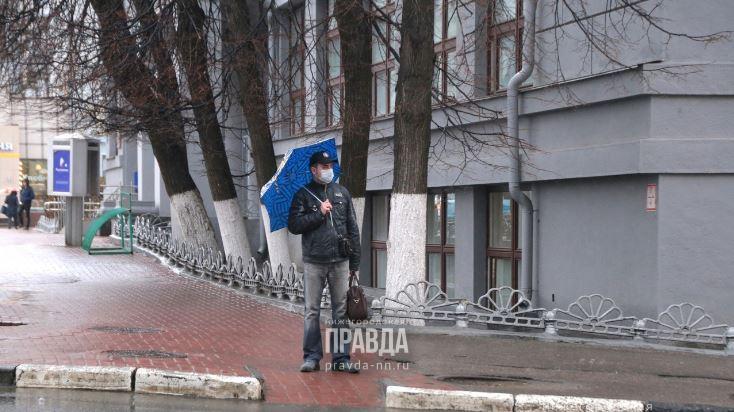 Дни между майскими праздниками будут дождливыми в Нижнем Новгороде