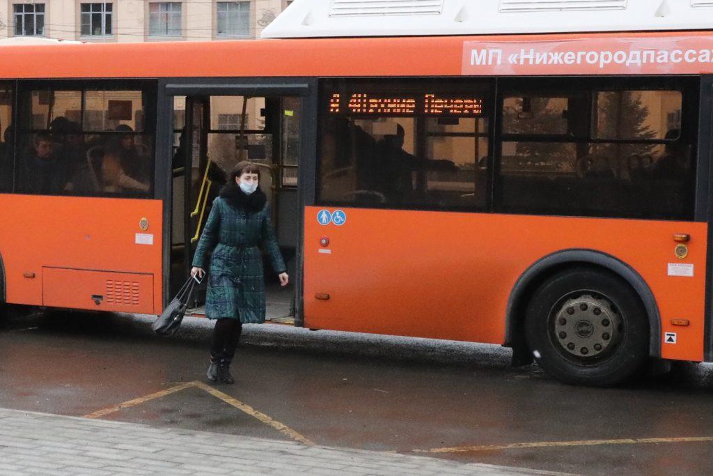 Нижегородцев не пустят в общественный транспорт без разрешения на выход из дома