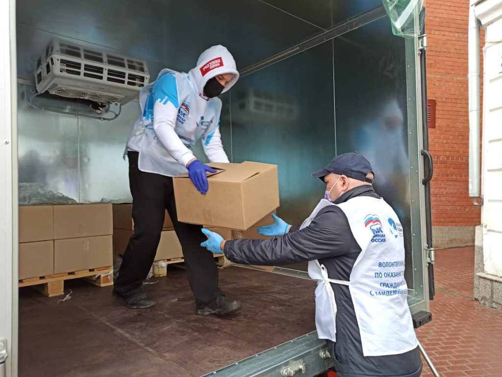 Волонтеры помогли десяткам тысяч россиян