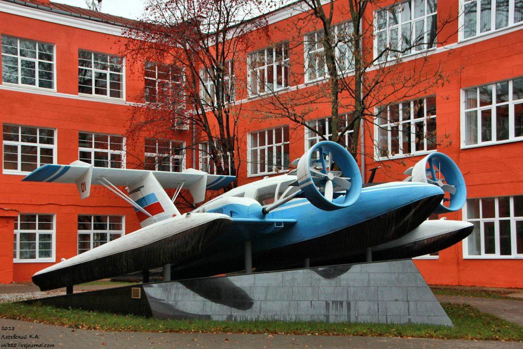 Полёт экраноплана: как изобретение Ростислава Алексеева прогремело на весь мир