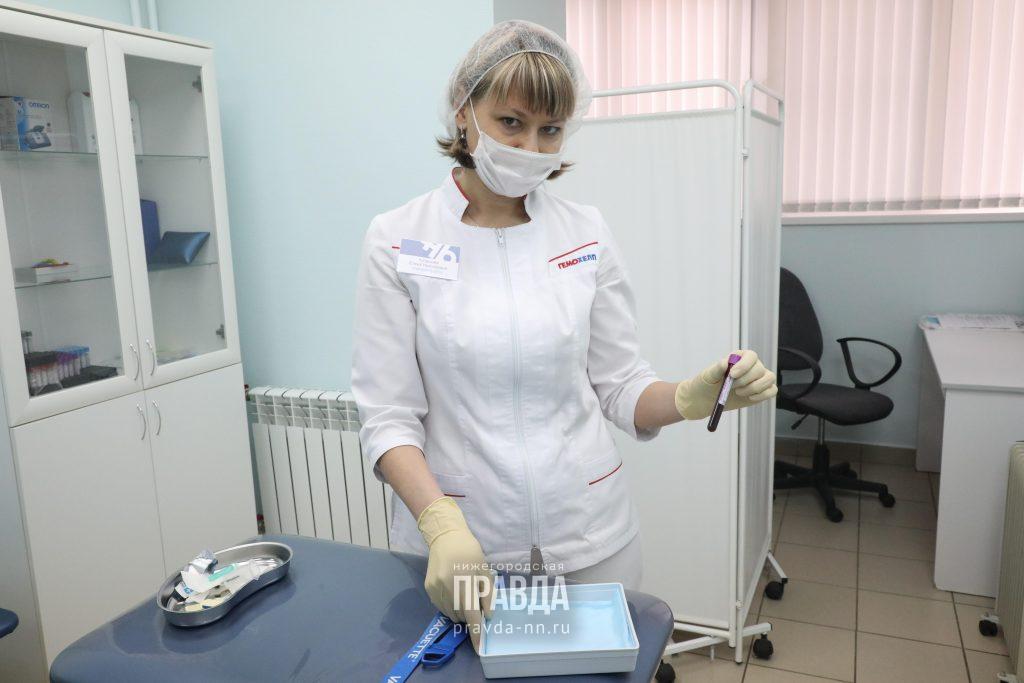 Глеб Никитин: «385 тысяч нижегородцев сдали тесты накоронавирус»