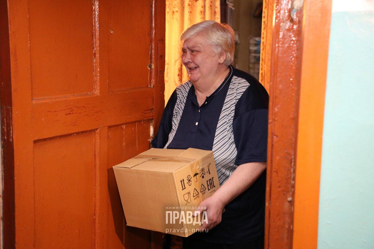 волонтеры помощь коронавирус пенсионер