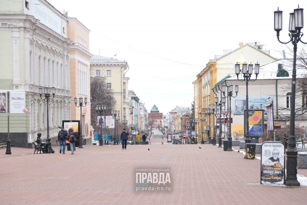 Нижний Новгород получил 4 балла на карте индекса самоизоляции