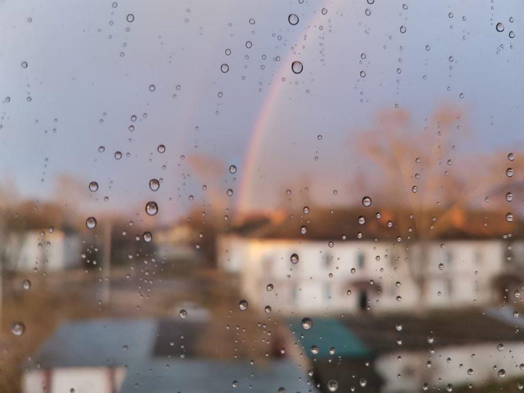 Фото дня: в Навашине распустилась радуга