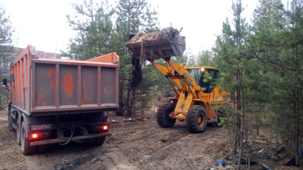 Почти 83 тысячи кубометров отходов вывезли снесанкционированных свалок  вНижегородской области