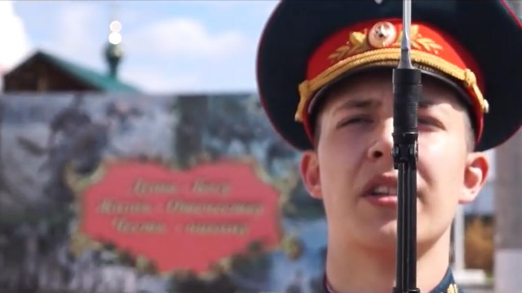 Военнослужащие бригады МТО из Дзержинска поздравили с 75-летием Победы видеороликом