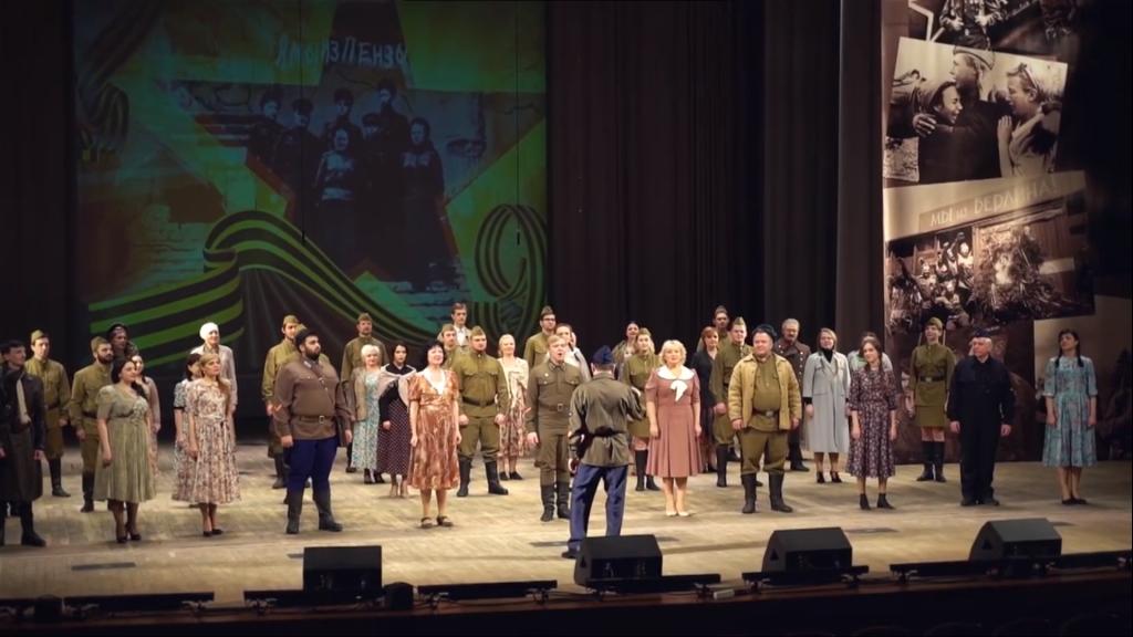 Пензенская область принимает эстафету песенного марафона «Наш День Победы»