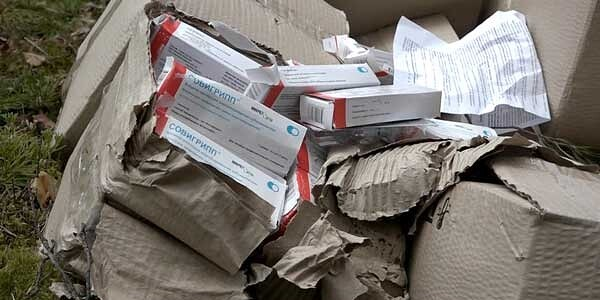 Следователи выяснили, кто выбросил коробки с вакциной от гриппа в дзержинском лесу