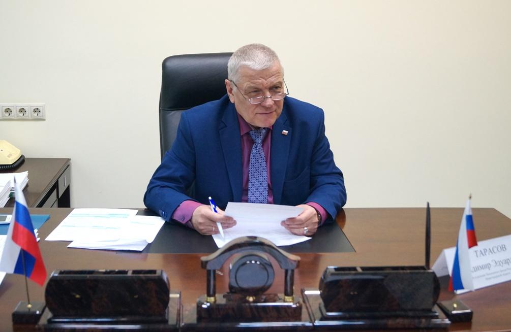 Владимир Тарасов: «В Нижегородской области вовремя приняли меры по борьбе с пандемией»