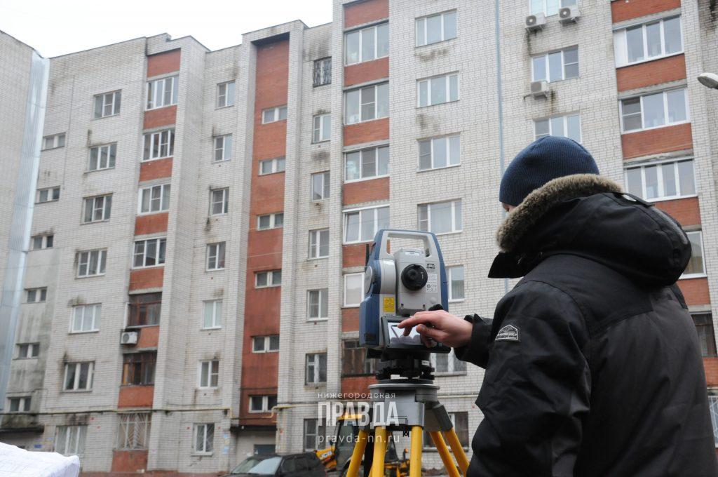 Треснувшую многоэтажку на улице Ломоносова в Нижнем Новгороде готовят к сносу