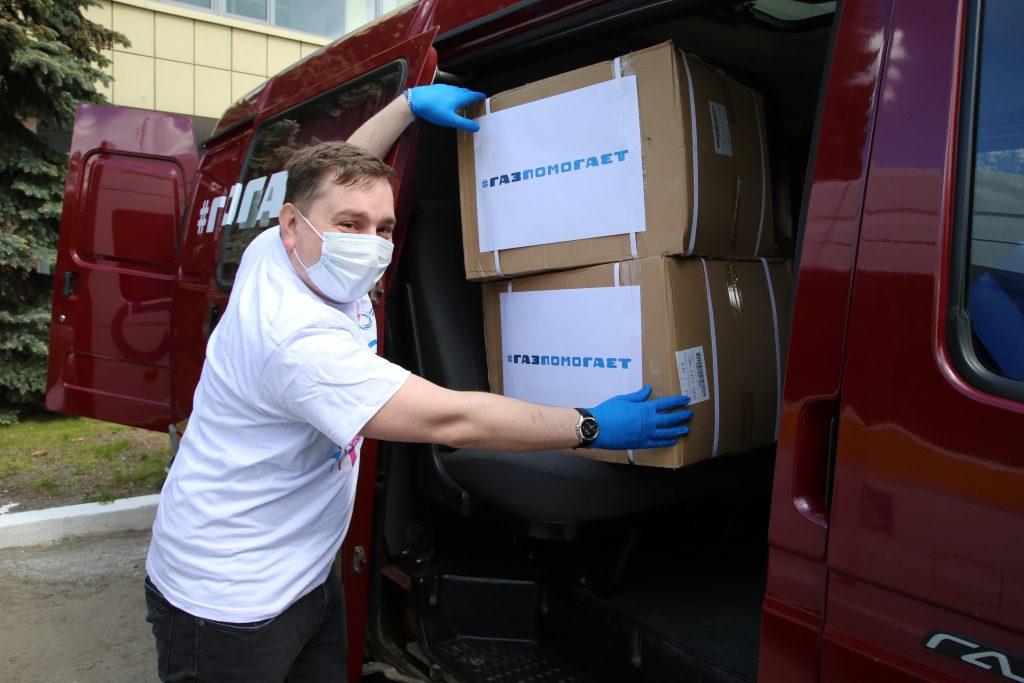 Около 250 тысяч защитных масок передали соцучреждениям волонтеры «Группы ГАЗ»