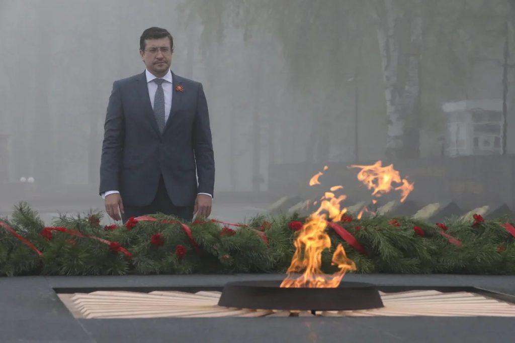 Поздравление губернатора Нижегородской области Глеба Никитина с Днем Победы