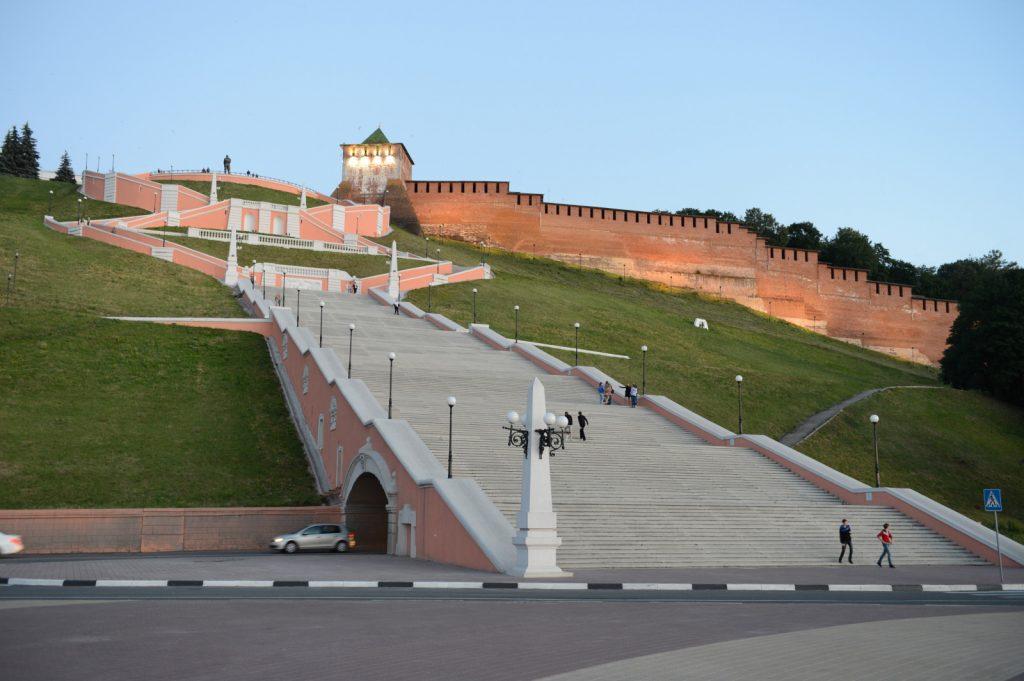 Сотрудники ННГАСУ начали разработку проектно-сметной документации пореставрации Чкаловской лестницы