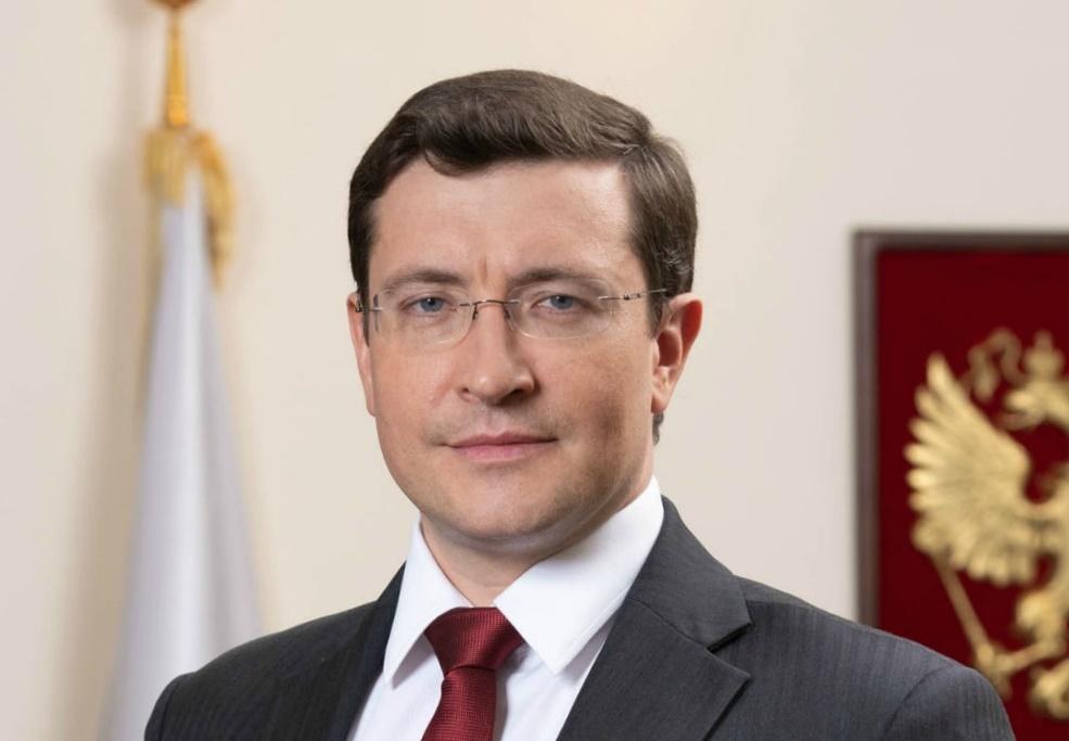 Поздравление губернатора Нижегородской области Глеба Никитина сДнем работника атомной промышленности