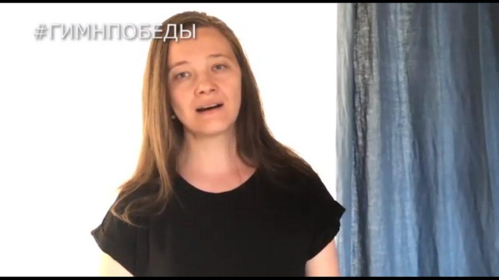 Певица Майя Балашова приглашает нижегородцев исполнить песню «День Победы» в интернациональном хоре