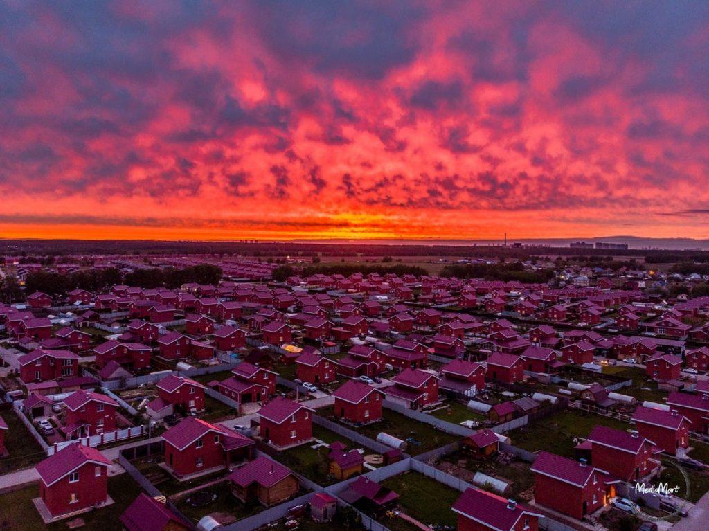 Фото дня: фантастический майский закат в Нижнем Новгороде