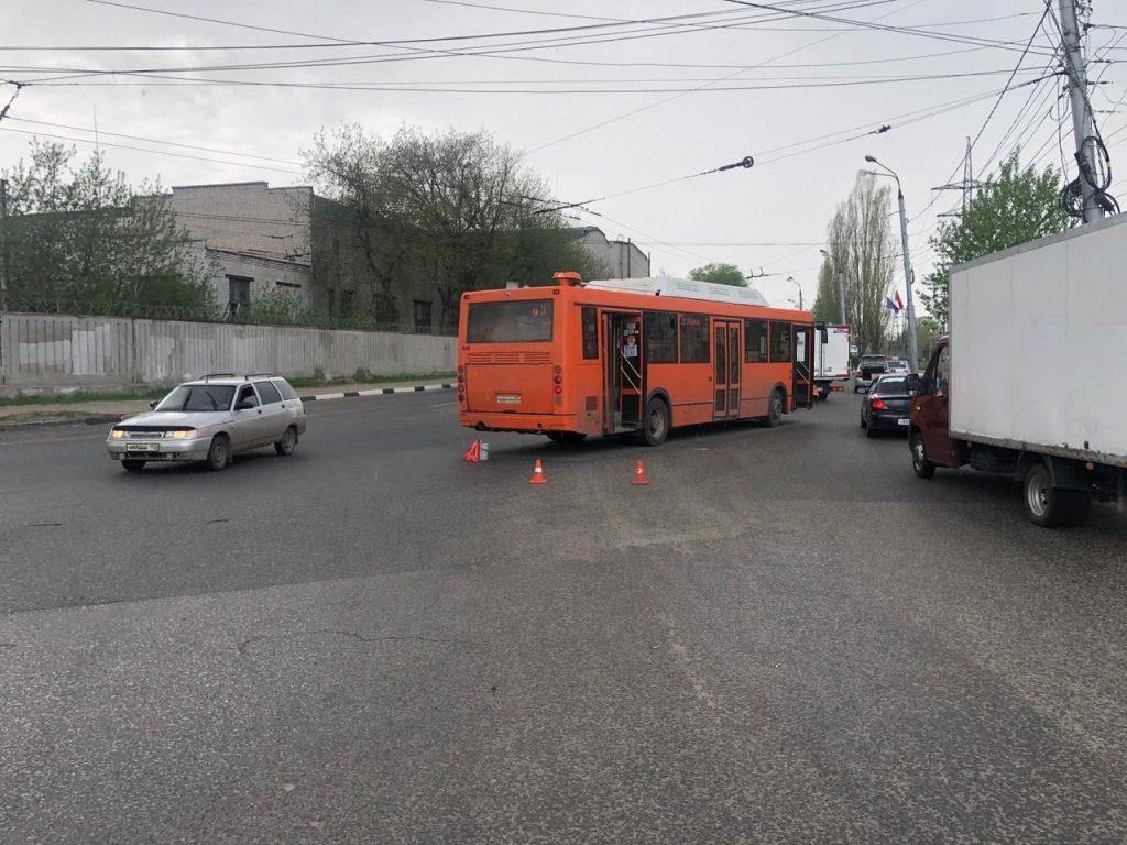 Ребёнок пострадал в ДТП с автобусом в Московском районе