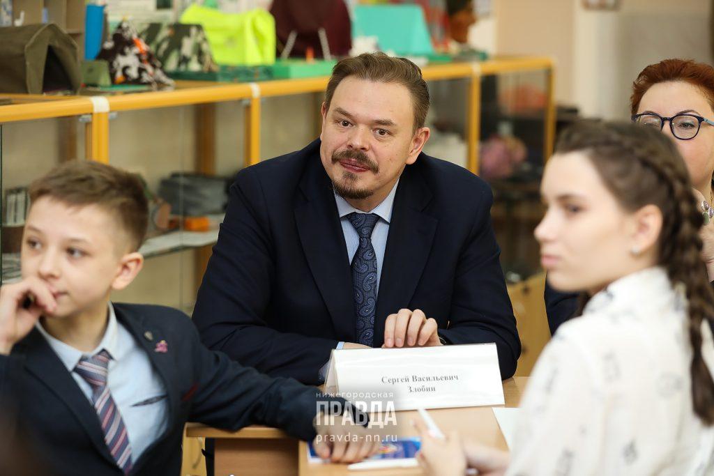 Сергей Злобин: «1сентября мы хотим видеть наших детей вшколах»