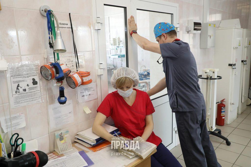 453 нижегородца, переболевших коронавирусом, выписаны заминувшие сутки