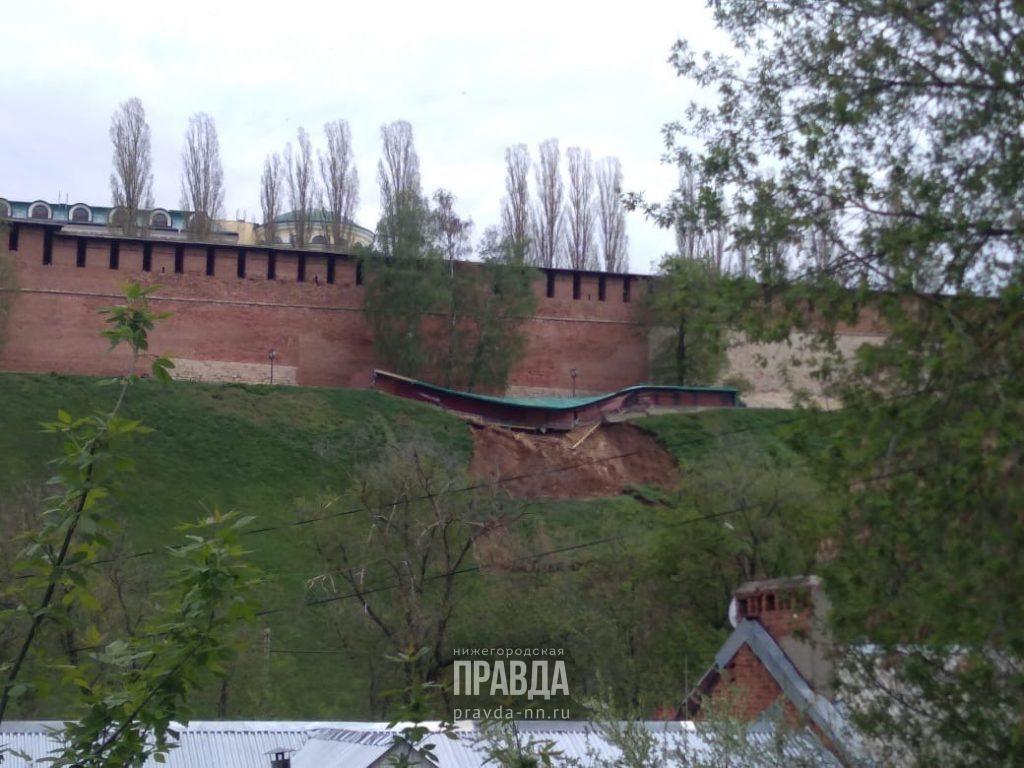 «Оползни и смывы грунта могут продолжиться из-за дождей»: в администрации Нижнего Новгорода рассказали, как борются с последствиями ливней