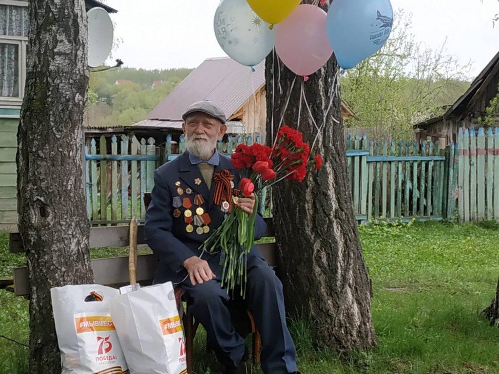 Персональные концерты для ветеранов Великой Отечественной войны прошли в Княгининском районе