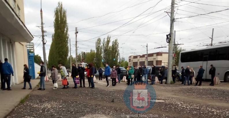 Нижегородский машзавод не будут штрафовать за очередь перед проходной