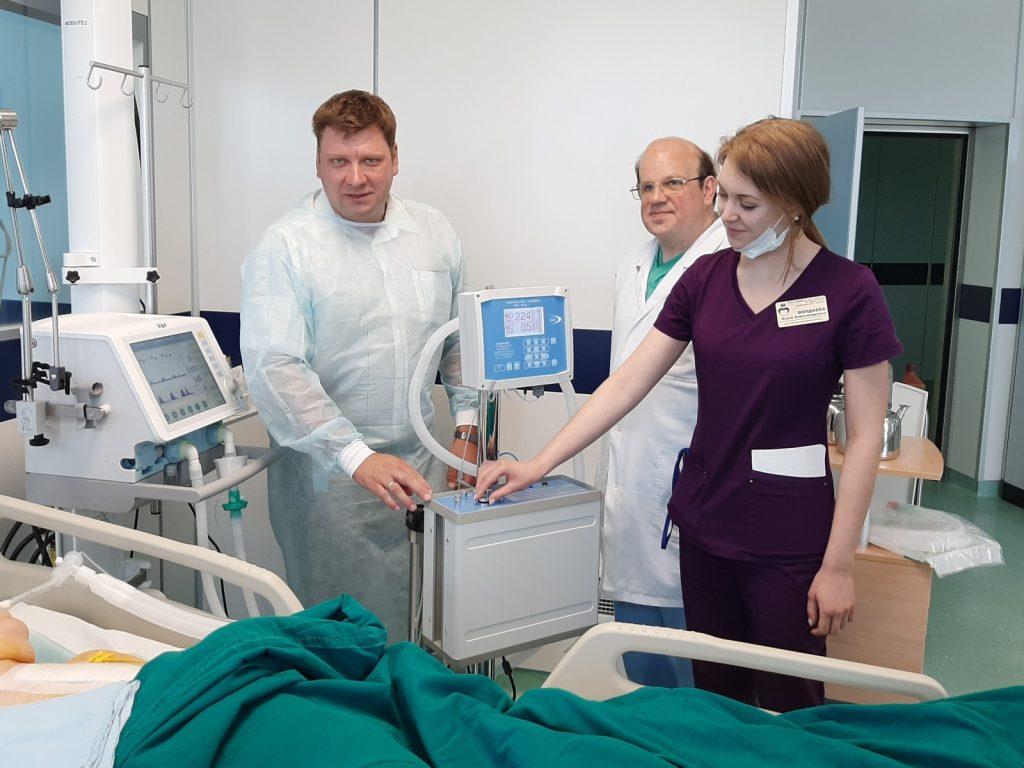 Уникальный аппарат для лечения пациентов с коронавирусом разработали саровские учёные из РФЯЦ-ВНИИЭФ