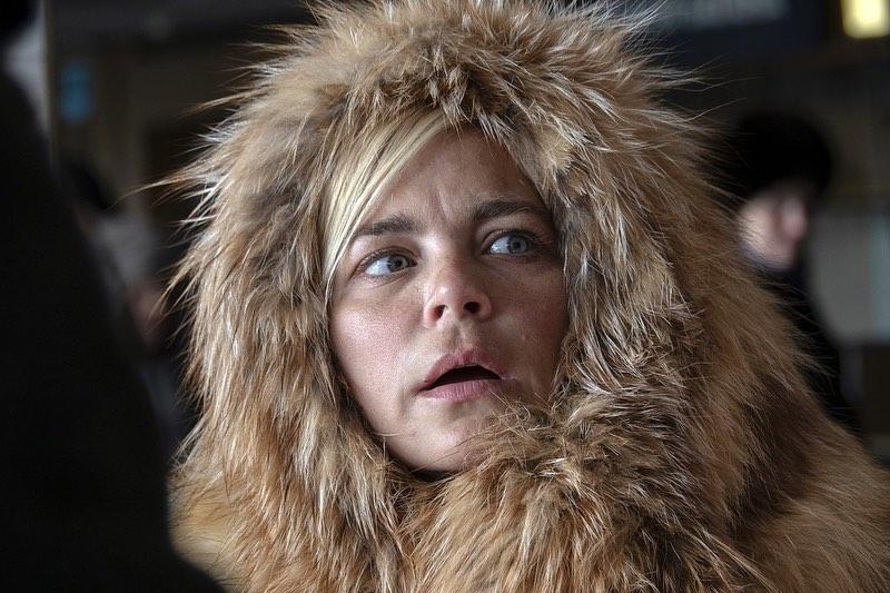 Ирина Пегова показала себя в образе Лох-несского чудовища