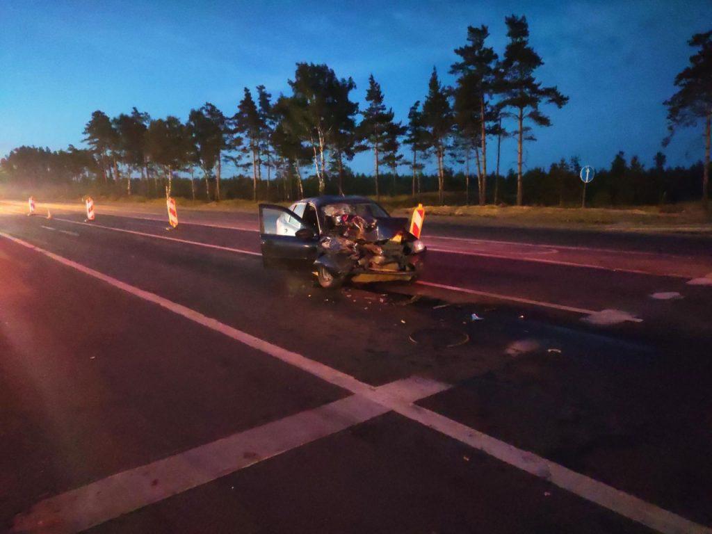 Четыре человека пострадали в аварии под Дзержинском
