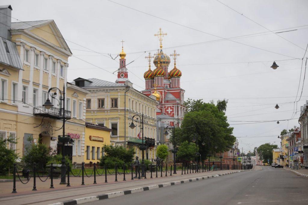 Председатель Заксобрания поздравил нижегородцев с Днём города