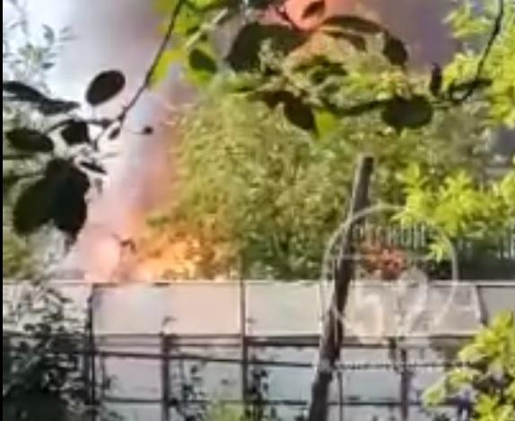 Серьёзный пожар произошёл в садовом товариществе в Нижегородской области