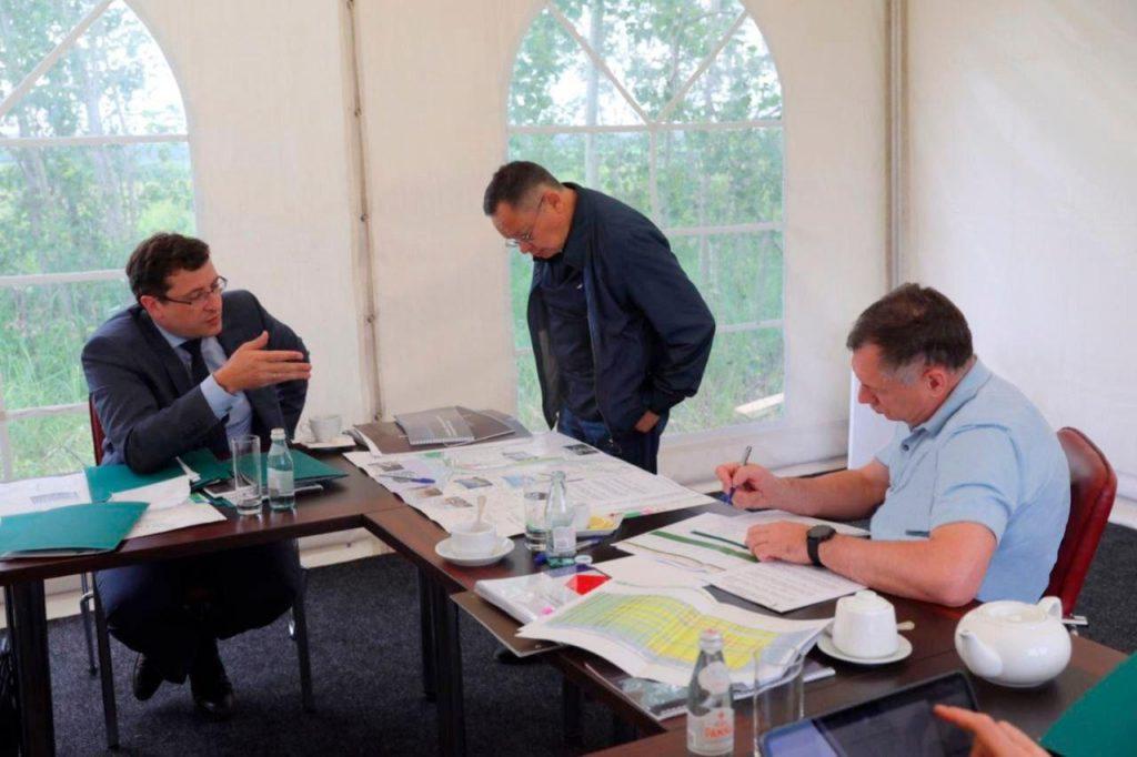Марат Хуснуллин иГлеб Никитин обсудили перспективы строительства дублера проспекта Гагарина вНижнем Новгороде