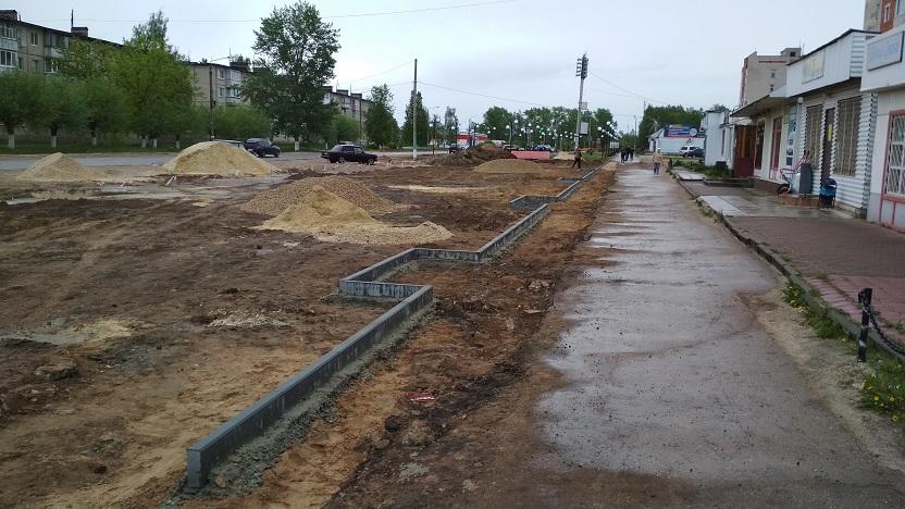 Улица Ленина в рабочем поселке Вознесенское будет благоустроена в рамках нацпроекта «Жилье и городская среда»