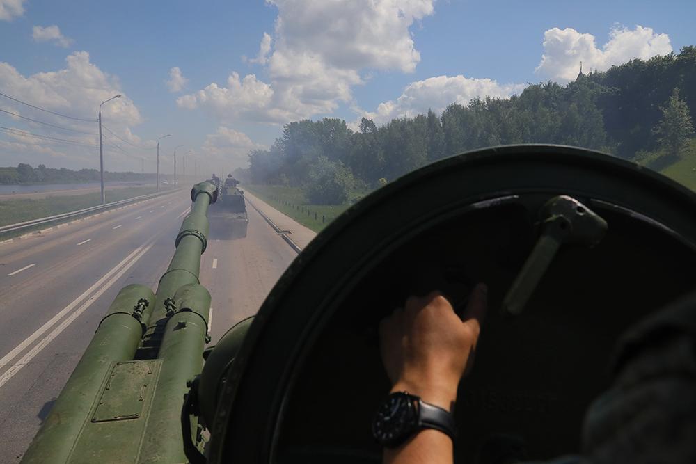 В Марше Победы в Нижнем Новгороде примут участие около 1000 человек и 75 единиц техники