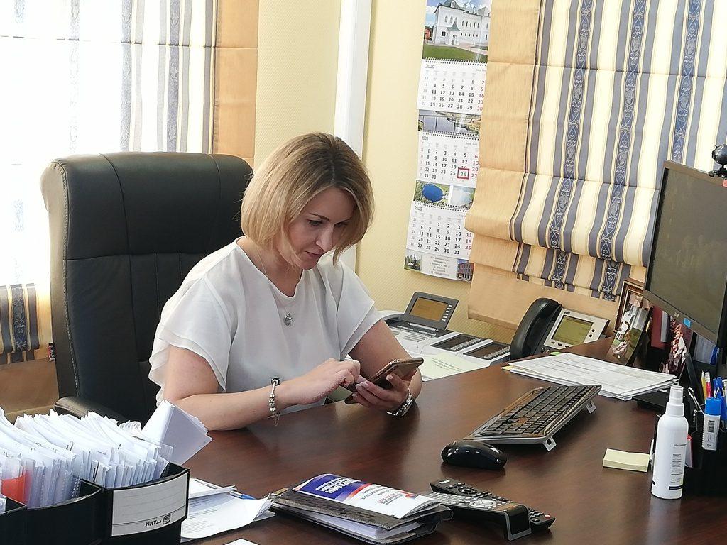 Председатель избирательной комиссии Нижегородской области Маргарита Красилевская ответила на вопросы о ходе голосования по поправкам в Конституцию РФ