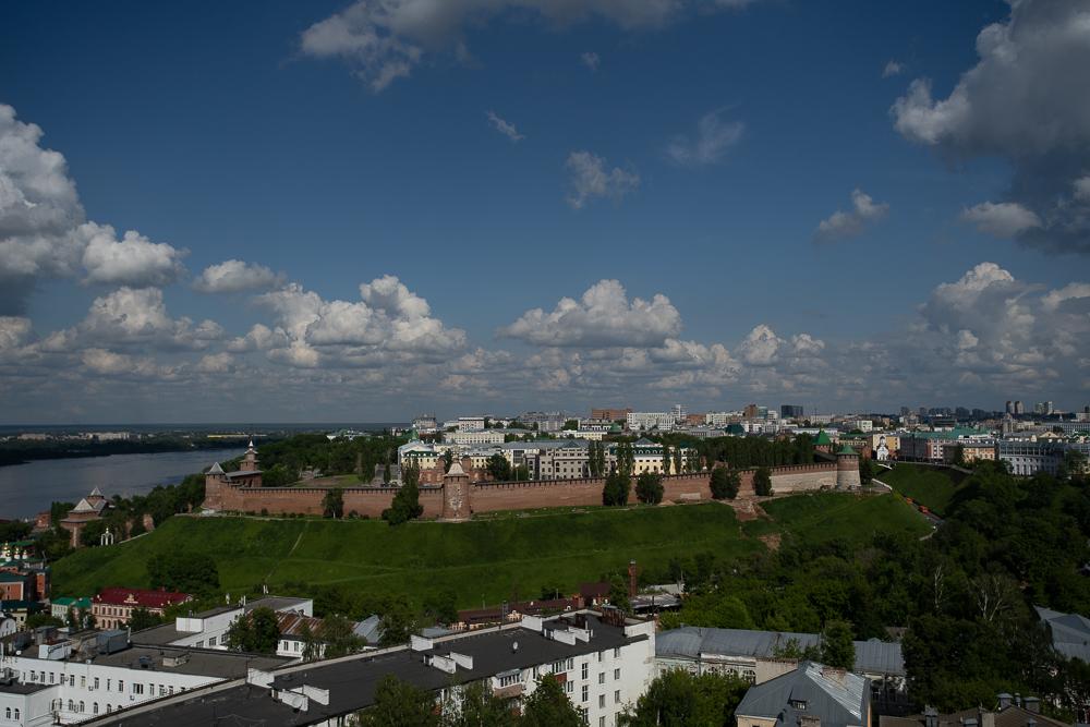 Нижегородский кремль отреставрируют за 1,6 млрд рублей