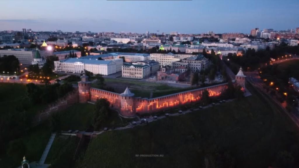 Видео дня: подсветка в честь Дня памяти и скорби зажглась на Нижегородском кремле