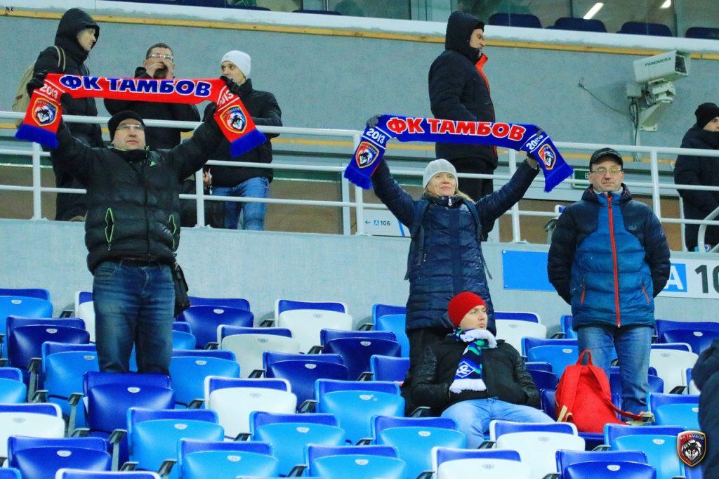 ФК «Нижний Новгород» и ФК «Тамбов» могут поменяться местами