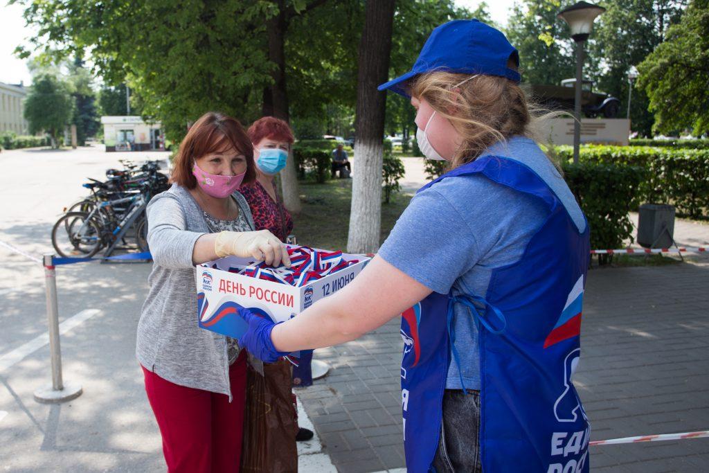 Около 800 тысяч нижегородцев получили ленты в цветах российского триколора
