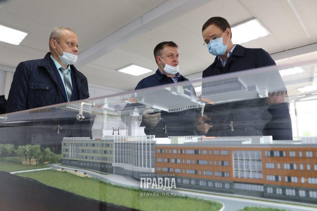 В Нижнем Новгороде началось строительство «Школы 800»: смотрим самые яркие кадры