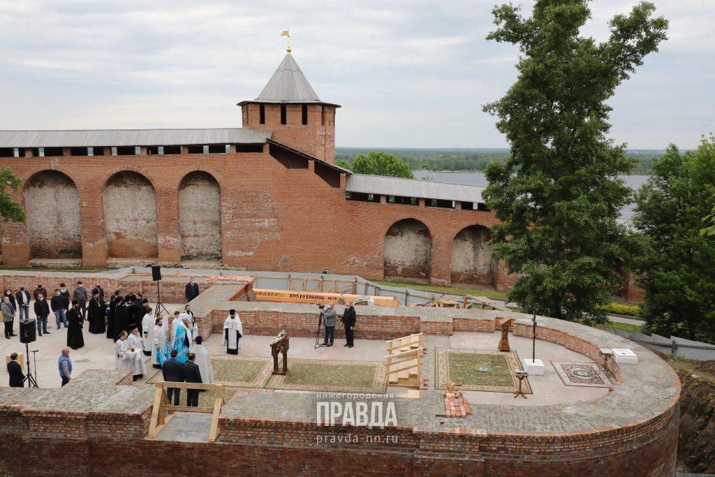 В Нижегородском кремле может появиться бронзовый 3-метровый макет исторической части города