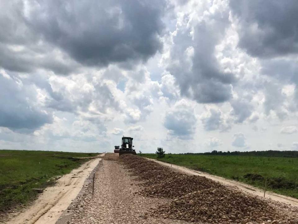 Реконструкция двух участков дороги вГагинском районе завершится вконце октября