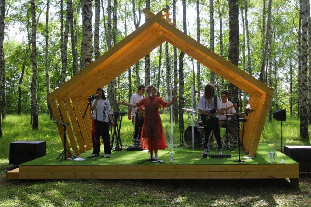 Онлайн-концерт изберезовой рощи парка Швейцария пройдет вДень России