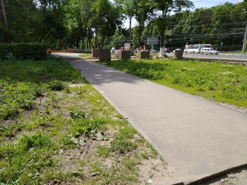 Благоустройство бульвара на проспекте Гагарина будет завершено в августе
