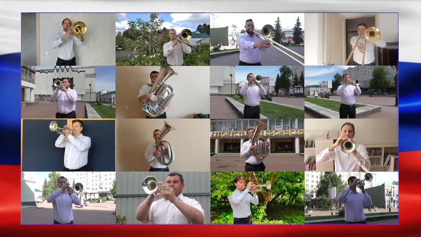 Видео дня: 110 нижегородских музыкантов исполнили гимн Российской Федерации