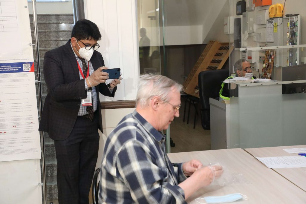 За ходом голосования в Нижегородской области наблюдают иностранные эксперты